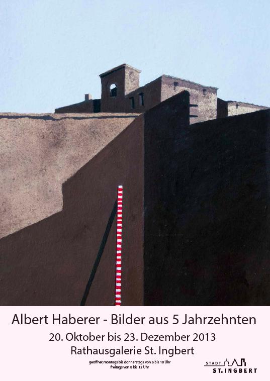 A. Haberer - Ausstellung IGB: Bilder aus 5 Jahrzehnten